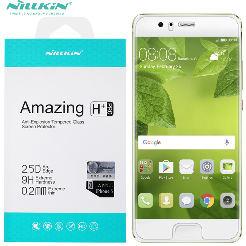 Nillkin 0.2mm screen protector for huawei p10 5.1inch Tempered Glass for huawei p10 plus 5.5inch phone protect filmNillkin 0.2mm screen protector for huawei p10 5.1inch Tempered Glass for huawei p10 plus 5.5inch phone protect film