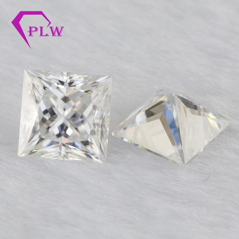 Provence jewelry princess cut loose gemstone moissanite D color 2.1 carat 7*7 mm 3ex VVS for ring bracelet necklace earring Provence jewelry princess cut loose gemstone moissanite D color 2.1 carat 7*7 mm 3ex VVS for ring bracelet necklace earring