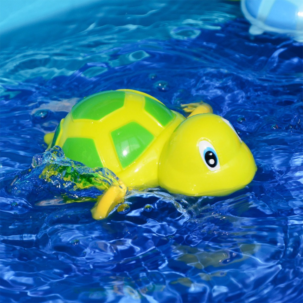 Bathroom Tub Bathing Toy Clockwork Wind UP Plastic Bath Animal Pool For Baby HP