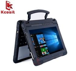 Rugged Notebook Computer portatile Impermeabile Militare Tablet PC Windows 10 Home 11.6 8G di RAM 128 GB SSD RS232 GPS UBlox Stilo HDMI