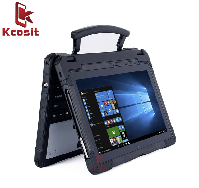Rugged Notebook Waterproof Laptop Computer Military Tablet Pc Windows 10 Home 11 6 8g Ram 128gb