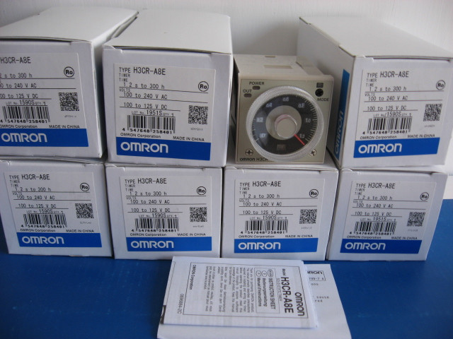 [ZOB] New original OMRON Omron relay H3CR-A8E AC220V [zob] new original omron omron beam photoelectric switch e3jk tr12 c 2m 2pcs lot