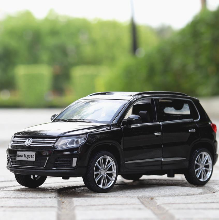 Hot 1:32 Scale Wheel Metal Model Car Germany Vw New Tiguan