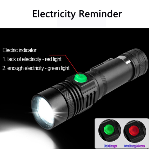 45000LM Super Bright Led flashlight USB linterna led torch T6/L2/V6 Power Tips Zoomable Bicycle Light 18650 Rechargeable z50 Karachi