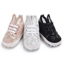 Buy easter gifts toddlers and get free shipping on aliexpress pudcoco 2018 brand newborn toddler infant boy girl soft sneaker rabbit ear baby shoes cute bunny negle Images