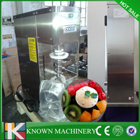 Stability and better operation stainless steel frozen yogurt blender kinds fruits ice cream mixer making machine free shipping