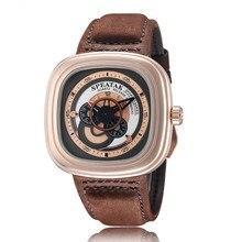 2016 Nueva original Diseño Elegante reloj SPEATAK Relojes Hombres Militar Del Ejército Para Hombre de Negocios Reloj Masculino Reloj de Cuero de regalo de Lujo