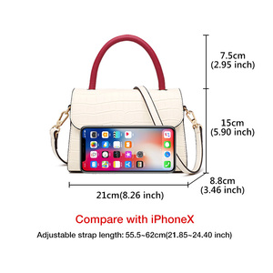 Image 4 - FOXER 2019 New Office Gentlewoman luxury  Shoulder Bags Lady Large Capacity Split Leather high quality Elegant Messenger Bags