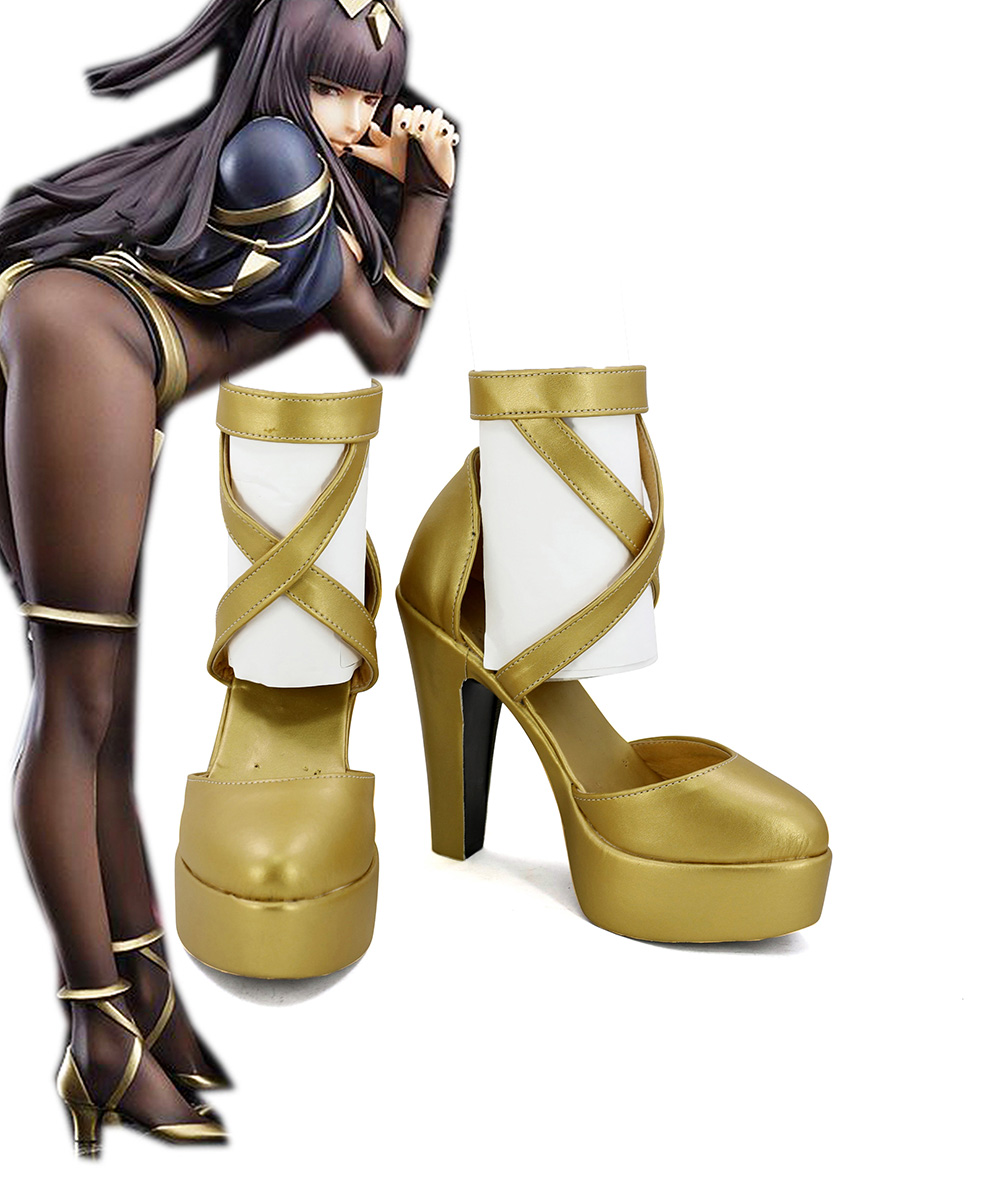 Tharja Shoes Cospaly Fire Emblem Awakening Tharja Cosplay Shoes Boots High Heel Custom Made Any Size