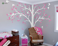 YOYOYU Vinyl Wall Decal Beautiful Tree Bird Butterfly Customize DIY Living Room Art Home Decoration Stickers FD539