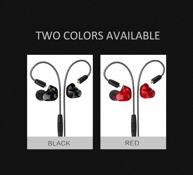 100% Оригинальные Moxpad X9 двойной Динамический драйвер профессиональный в ухо Спорт отсоединить наушники с микрофоном замена кабеля Vs SE215 SE535