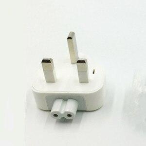 Image 2 - Сетевой адаптер питания со съемной вилкой Стандарта Великобритании и утиной головкой для Apple iPad iPhone, зарядное устройство USB MacBook