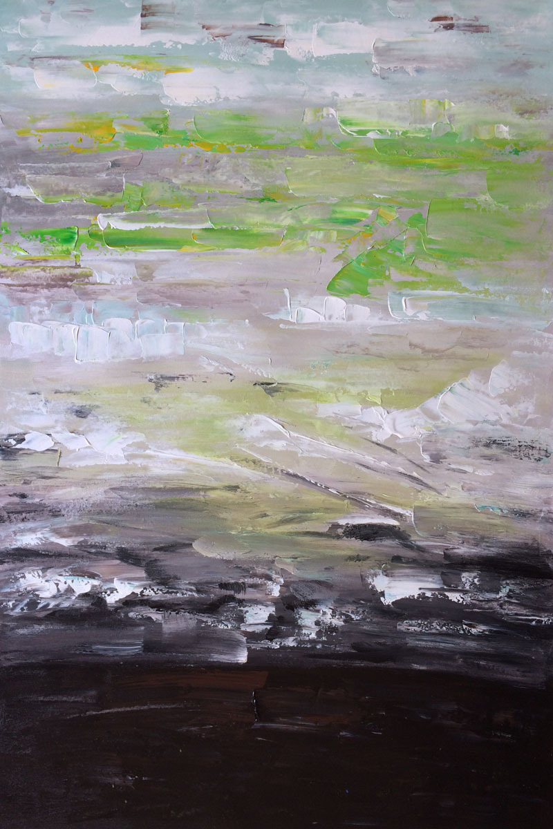 Museum Quality Modern Abstract Oil Paintings Avr0312 by Lisa Carney Canvas Art Painting Reproductions