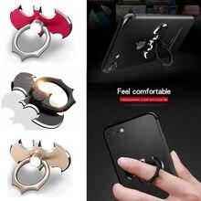 20dde3aea Universal Phone Stand 360 Degree Batman Luxury metal Phone Finger Ring  Holder For iPhone X 8