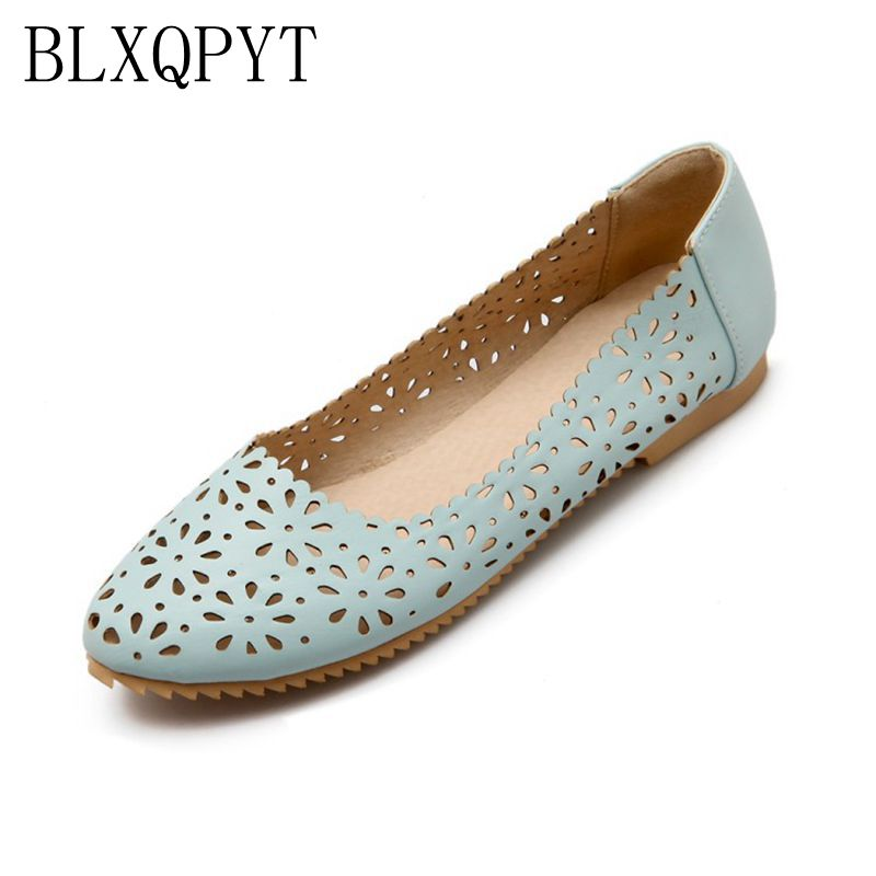 2017 Real Sale Plus Large Size 34-47 Women's Fashion Shoes Woman Flats Spring Female Ballet Metal Round Toe Solid Casual 8-13 plusbig size 34 43 women s fashion shoes woman flats spring shoes female ballet shoes metal round toe solid casual shoes 237