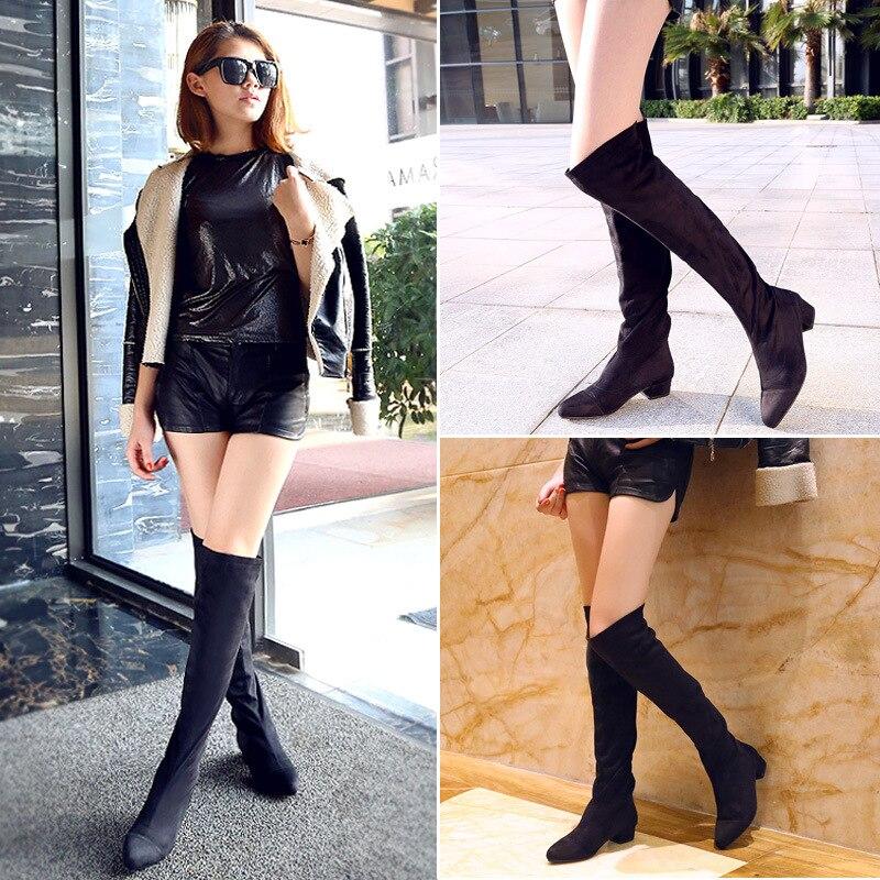 scegli il più recente ultima selezione del 2019 migliori offerte su 2015 modelli scarpe tubo da stufa stivali al ginocchio ...