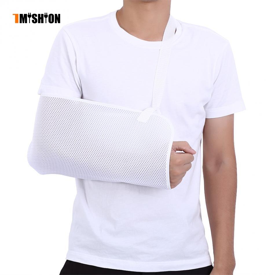 Braces Medical Mesh Arm Slings Adjustable Shoulder Immobilizer Wrist Elbow Fracture Dislocation Support Injury Sprain Arm Sling