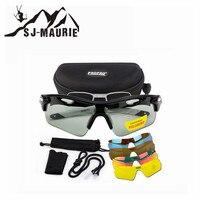 5 In 1 Polaroid Ski Goggles Cycling Glasses Snowboard Sunglasses Ski Helmet Mask Fast Moto Bike Driving Fishing Hunting Eyewear