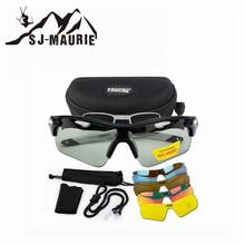 5 In 1 Polaroid Ski Goggles Cycling Glasses Snowboard Sungla