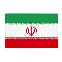 Iran National Flag Asia Country Anti slip Floor Mat Carpet Bathroom Living Room Kitchen Door 16x30Gift