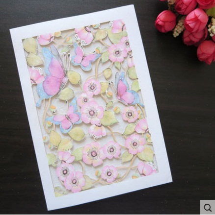 2016 Free Shipping New Stock Creative Handmade Greeting Cards For