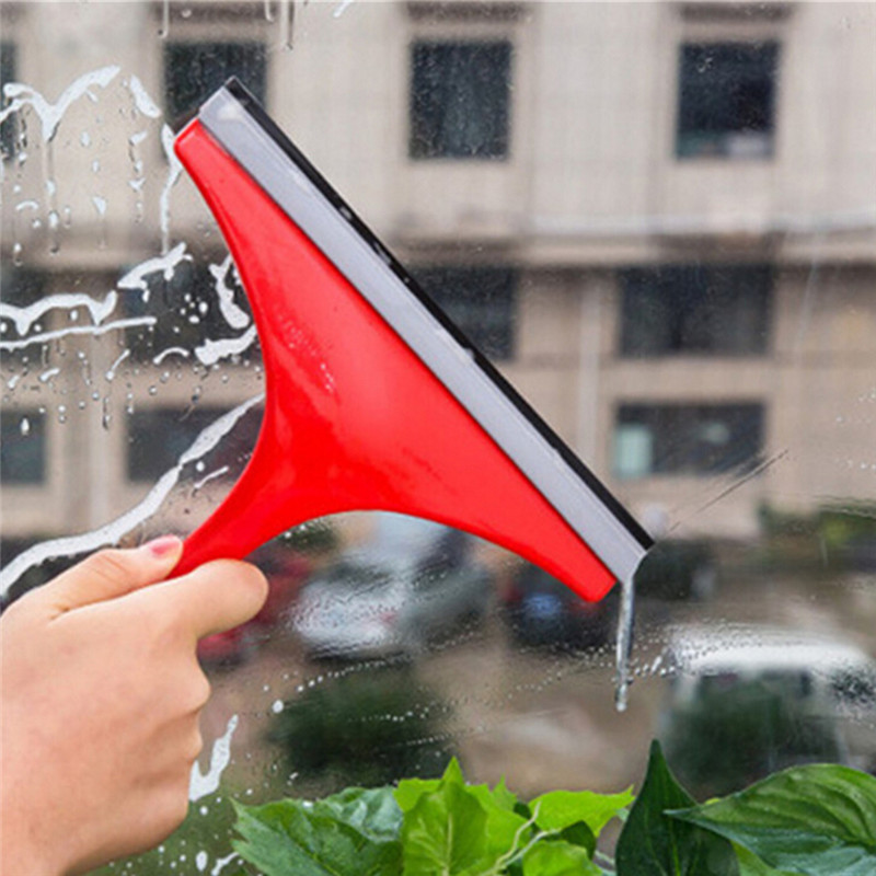 Car Silicone Water Wiper Soap Cleaner Scraper Blade Squeegee Car Vehicle Windshield Window Washing Cleaning Accessories