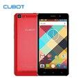 Cubot rainbow 5.0 pulgadas teléfono inteligente de pantalla hd 1 gb ram 16 gb rom teléfono celular android 6.0 mtk6580 quad core teléfono móvil