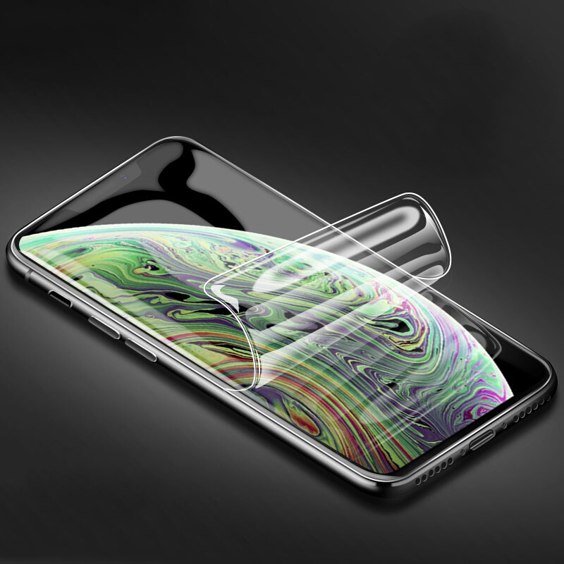 2PCS-Soft-TPU-Film-for-iPhone-7-8-plus-Full-coverage-Screen-Protector-For-iphone-X
