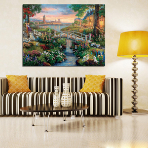 Томас кинкаде 101 далматинцы художественные плакаты и принты холст живопись декоративная картина маслом для спальни украшение дома