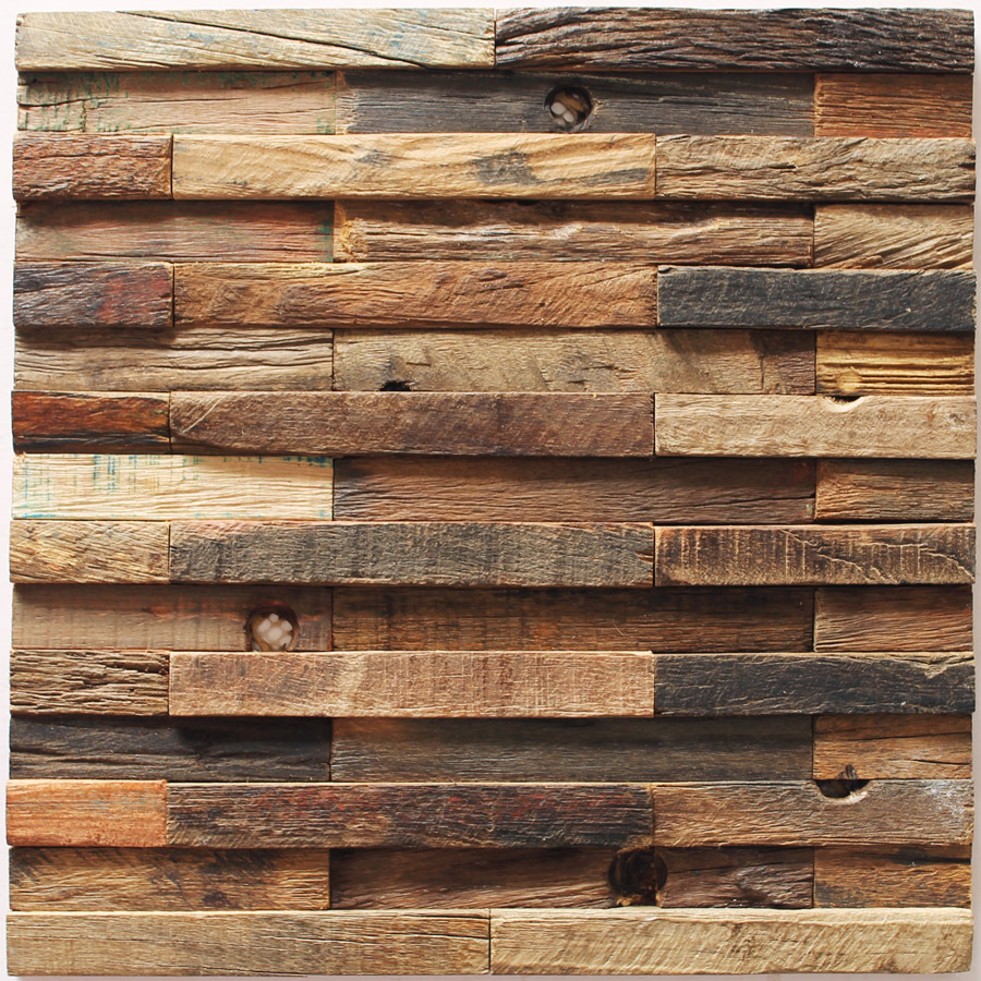 Weathering Wood Striped Nail Holes Boat Wood Material Mosaics 3d