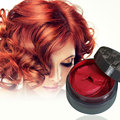5 Colors Grey Hair Dye Styling Colored Hair Mud Hair Color Wax Disposable Temporary Hair Dye Cream