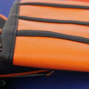 Image 5 - Mango de goma cubierta de asiento suave acanalado para YAMAHA, HONDA, SUZUKI, DUCATI, KTM, SX, SXF, XC, XCF, funda de cuero para cojín todoterreno