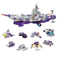 Initiation 1402 Building Block Star Wars Building Block Military Children Toys Interstellar Warship Model Boy Zoarium Toys