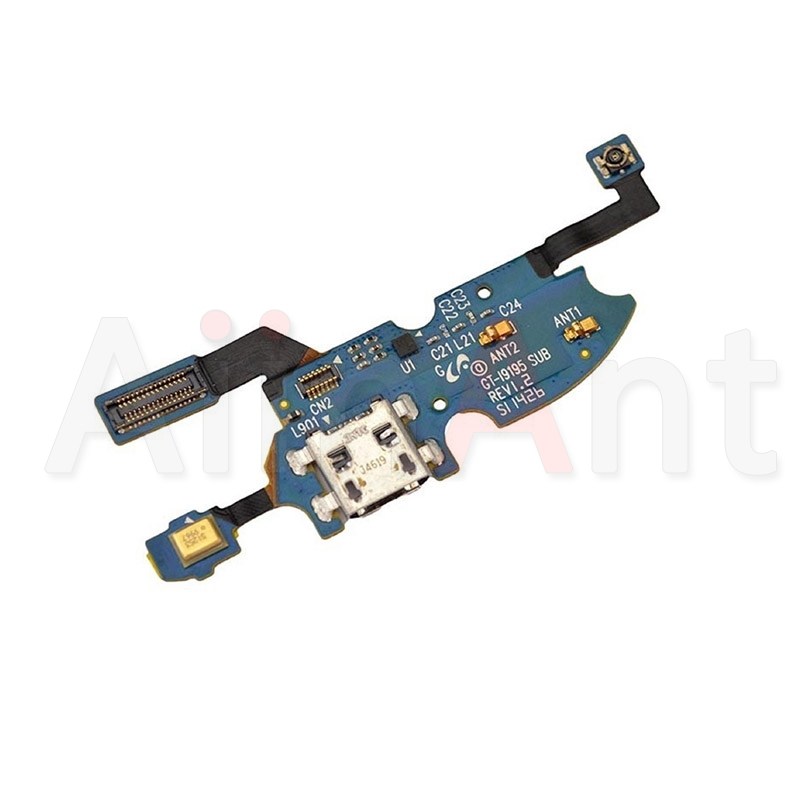 Original USB Charging Port Charger Dock Connector Flex Cable For Samsung Galaxy S4 Mini I9195 I9190 I9192 Replacement