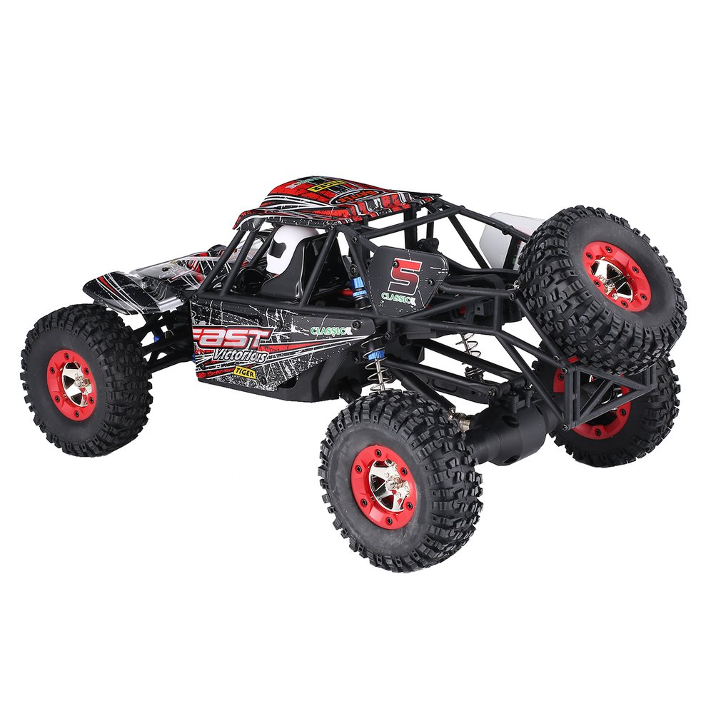 Wltoys 12428-C 1/12 Scale 2.4Ghz 4WD 50km/h High Speed RC Crawler Climbing Off-Road Rock Electric RC Remote Control Car RTR Toy hongnor ofna x3e rtr 1 8 scale rc dune buggy cars electric off road w tenshock motor free shipping