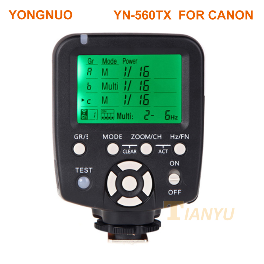 YN560TX II YN560-TX II C Wireless Flash Controller and Commander for Yongnuo YN-560III YN560TX Speedlite for Canon DSLR Cameras цены