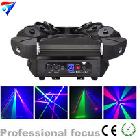 Free shipping 9 Eyes 3x3 LED Spider DMX RGB LED DMX Laser New Design 16CH Light For Club Disco Light Stage Light