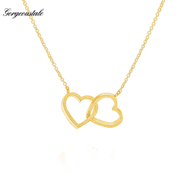 choker item steel new god arrival heart love necklace pendant chain gold silver stainless jewelry me
