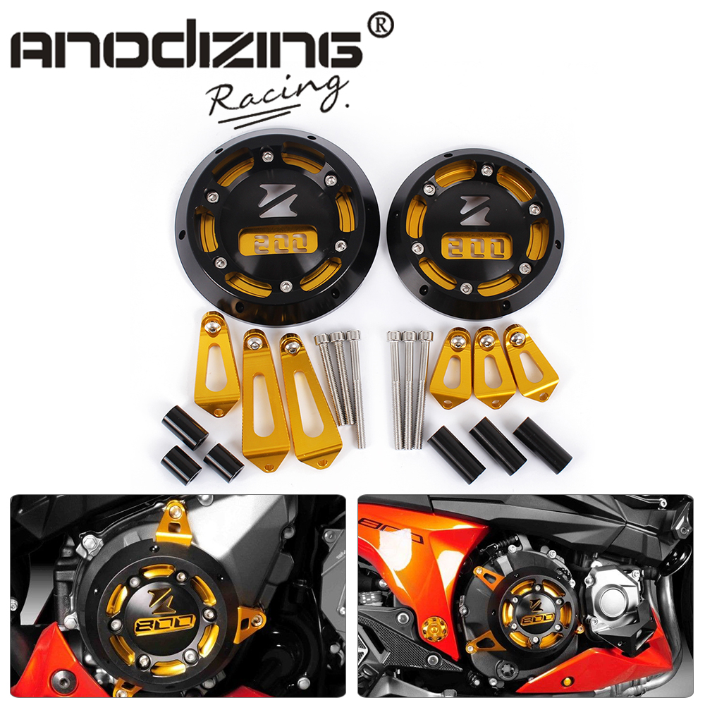 купить New Free Shipping Motorcycle For KAWASAKI Z800 2013-2015 CNC Aluminum Engine Stator Cover Engine Protective Cover недорого