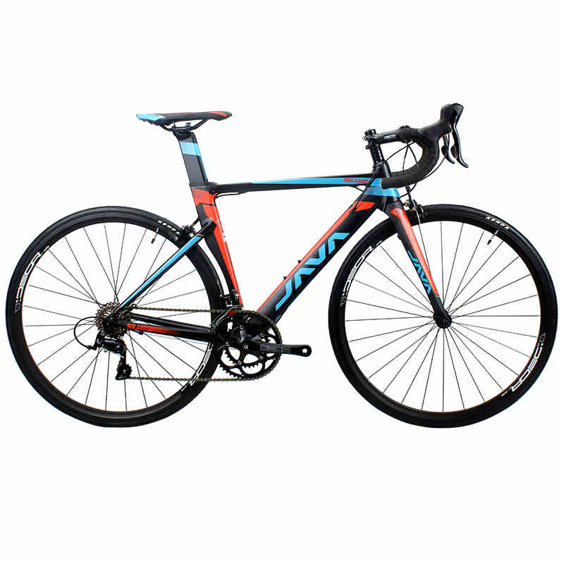 2017 JAVA SILURO Road Bike 700C Aluminium Frame with Carbon Fork S H I M A N O SORA 3000 18 Speed Aero Racing Bicycle quelle h i s 770951