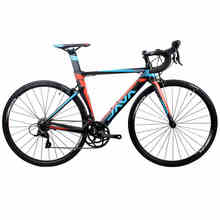 2017 JAVA SILURO Road Bike 700C Aluminium Frame with Carbon Fork S H I M A N O SORA 3500 18 Speed Aero Racing Bicycle