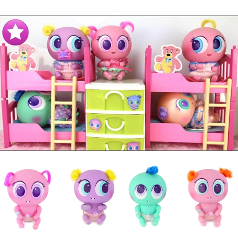 2019 Ksimeritos Juguetes Casimeritos Toy With Neonate Nerlie Micro Kit Nerlie Neonate Babies Accessories Chivatita For Kids Toys