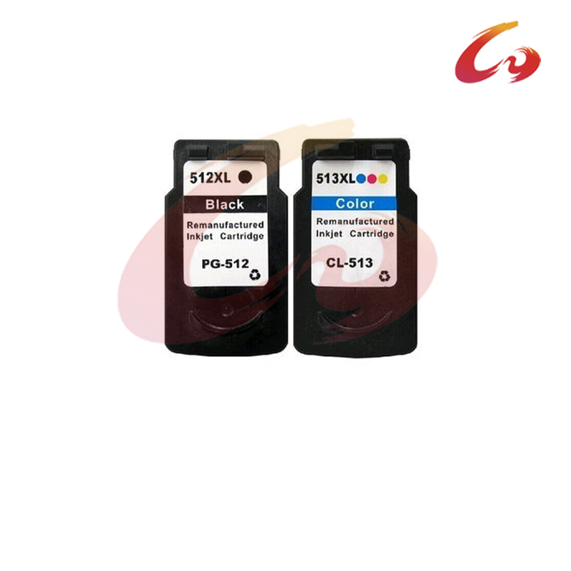 2 PCS For Canon PG 512 CL 513 Ink Cartridges For Canon iP2700 iP2702 MP240 MP250