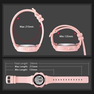 Image 5 - PANARS mode dames montres garçons filles étudiants numérique sport femmes montre 50m étanche montre bracelet alarme Relogio Feminino