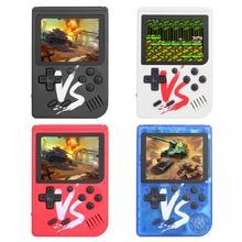 3.0 インチの小型ハンドヘルドビデオゲームコンソール内蔵 500 クラシックゲームダブルプレーゲームプレーヤーポータブルゲームプレーヤー