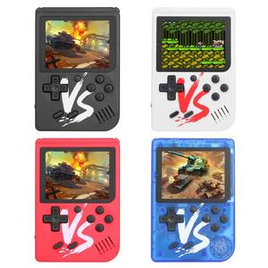 Image 1 - 3,0 zoll Mini Handheld Videospiel konsole Gebaut in 500 Klassische Spiele Doppel Spielen Gaming Player Portable Handheld Spiel player