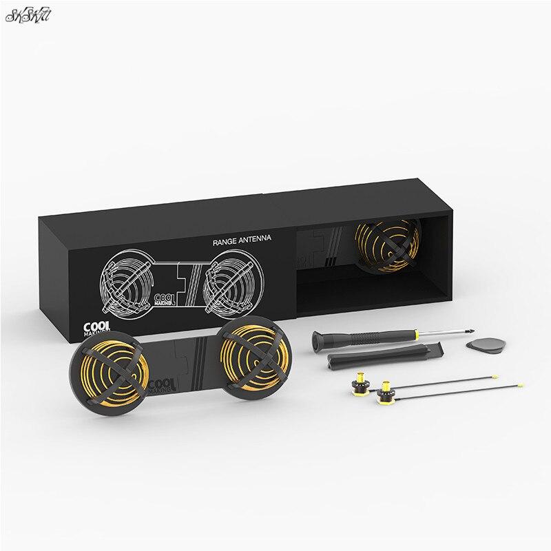 Пульт дистанционного управления Модифицированная антенна 16 DBi сигнальная антенна для DJI mavic pro Air SPARK mavic 2 pro zoom Drone аксессуары
