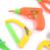 34 unids constructores de niño de plástico accesorios de disfraces juegos de herramientas conjunto toys, DIY Creativo de Ladrillo Juguete Juguetes educativos para Niños