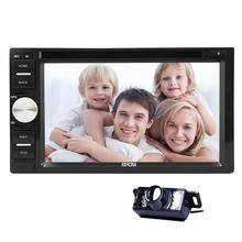 In-dash Car DVD Player double 2 din Car Radio Stereo Audio FM RDS Radio HD Capacitive Multi-touchscreen USB/SD Bluetooth Stereo