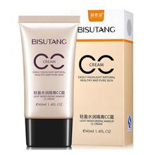 40ml Gold BB & CC Cream Makeup Women Facial Concealer Whitening Moisturizing Oil-control Concealer  Cosmetics New Arrive Z3